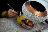 Iranian Art - Handicrafts - Inlaid Turquoise 05
