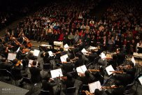 Tehran, Iran - Shahrdad Rohani conducts orchest in Tehran 2015 Jan 07