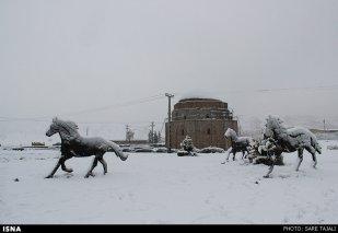 Iran, Kerman Winter Snow 04