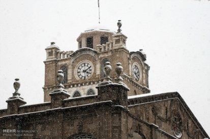 Snowfall in Tabriz Iran 5