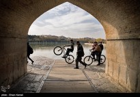 Zayanderud River in Iran's Isfahan Province 01