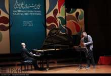 Italia Italian Jazz Pianist Stefano Battaglia in Iran Fajr International Music Festival 1