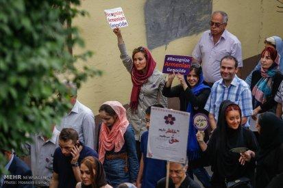 Armenian Genocide Anniversary - 1915-2015 - Commemoration in Iran, Tehran 8
