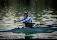 Tehran, Iran - Iran's rowing team training at Lake Azad Sports Complex 1