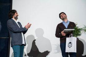 Tehran, Iran - Sheed Award 2014 41 - Closing ceremony, Behrouz Mehri and Javad Maktabi