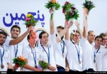 Water polo - 2015 FINA Development Trophy in Tehran - Austrian team (bronze medal)