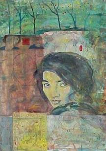 Portrait of Forough Farrokhzad, the most famous woman in the history of Persian literature