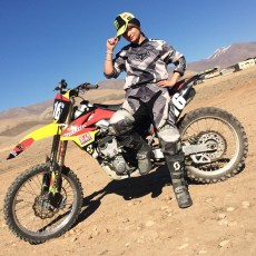 Behnaz Shafiei - Iran woman professional motocross 3