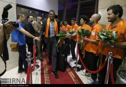 Charity game in Iran with Football World Stars - Welcome 1