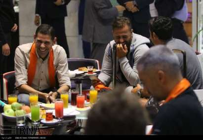 Charity game in Iran with Football World Stars - Welcome Tehran Airport 3