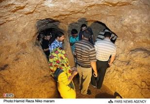Isfahan, Iran - Nushabad, underground city 12
