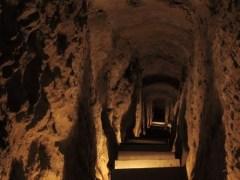 Isfahan, Iran - Nushabad, underground city 18