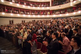 Tehran Symphony Orchestra and China Philarmonic Orchestra performing together on August 2015 in Tehran, Iran 12