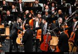 Tehran Symphony Orchestra and China Philarmonic Orchestra performing together on August 2015 in Tehran, Iran 17