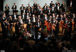 Tehran Symphony Orchestra and China Philarmonic Orchestra performing together on August 2015 in Tehran, Iran 18