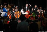 Tehran Symphony Orchestra and China Philarmonic Orchestra performing together on August 2015 in Tehran, Iran 19