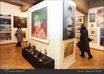 8th Haft Negah (Seven Views) - Iranian expo at Niavaran Cultural Complex, organized by the Aria, Elaheh, Dey, Golestan, Haft Samar, Vaali and Mah-e Mehr galleries - 01