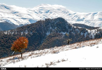 Gilan, Iran – Autumn - Snow in Talesh 06
