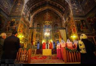 Isfahan, Iran Christians New Year 2016 10