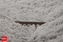 Mazandaran, Iran - Savadkuh County - Veresk bridge - Landscape, winter, snow 09