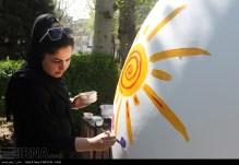 Tehran, Iran - Baharestan - Urban art event to welcome spring - 2016 (1394-1395) - 310