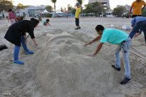 Hormozgan, Iran - Kish Island - Sand sculptures 49