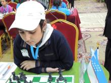 2016 Asian Youth Chess Championship - Fatemeh Khodadadi from Iran - 1