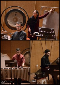 Tehran Contemporary Music Festival 2016 - Tehran Percussion Ensemble - 02a - Iran