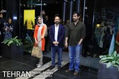 Press conference in Tehran after Cannes 2016 - Director Asghar Farhadi and actors Shahab Hosseini and Taraneh Alidoosti of Iranian film 'The Salesman' (Forushande) - 01