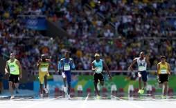 Rio 2016 - Athletics - 100m - Reza Ghasemi - Olympic Games in Rio de Janeiro, Brazil - Foto Paul Gilham (Getty Images)