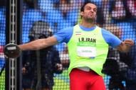 Rio 2016 - Athletics - Discus Throw - Mahmoud Samimi - Olympic Games in Rio de Janeiro, Brazil - Foto Frank Fife (AFP)