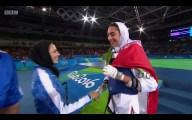 Rio 2016 – Taekwondo – Women's -57kg – Kimia Alizadeh Zenoorin (Bronze medal winner) – Olympic Games in Rio de Janeiro, Brazil – (BBC)