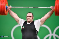 Rio 2016 - Weightlifting - plus 105kg - Behdad Salimi Kordasiabi - Olympic and World Record in snatch (216kg) - 01 - Olympic Games in Rio de Janeiro, Brazil - Foto (ISCA News)