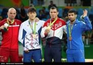 Rio 2016 - Wrestling - Greco-Roman 75kg - Gold R. Vlasov (Russia), Silver M.O. Madsen (Denmark), Bronze H.W. Kim (South Korea) and S.M. Abdevali (Iran) - Foto M. Hassanzadeh (TNA)