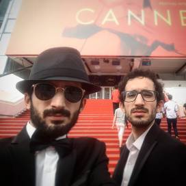 Bahram and Bahman Ark, Cinéfondatino Second Prize winners for Heyvan (Animal). Photo credit bahramark, instagram.com