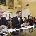 Paul Ryan testifies Monday on his budget proposal before the House Rules Committee