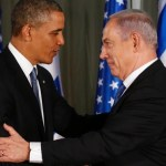 Obama and Netanyahu at their press conference
