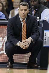 Virginia coach Tony Bennett watches his team