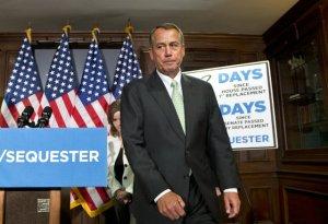 Boehner stares down Obama