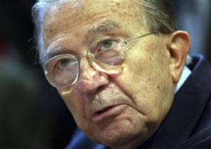 Andreotti at an appeals trial in 2002