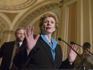 Sen. Debbie Stabenow, D-Mich., chairwoman of the Senate Agriculture Committee