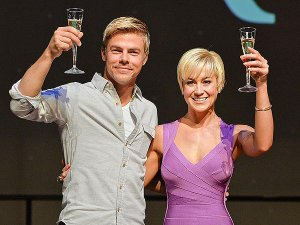 Derek Hough and Kellie Pickler