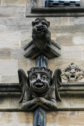 Gargoyles' - St John's Colllege