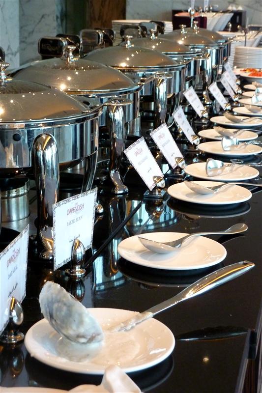 I do love a hotel breakfast buffet
