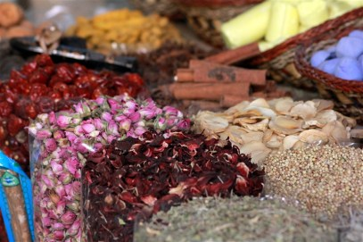 In the spice market - wish we had smell-a-vision