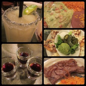 Delicious Mexican dinner