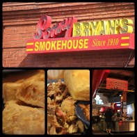 Lunch at Bryan's Smokehouse