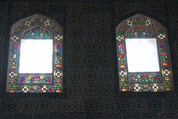 Topkapi Palace - Rich stained glass