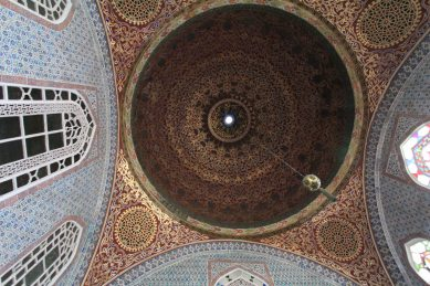 Topkapi Palace - another domed ceiling