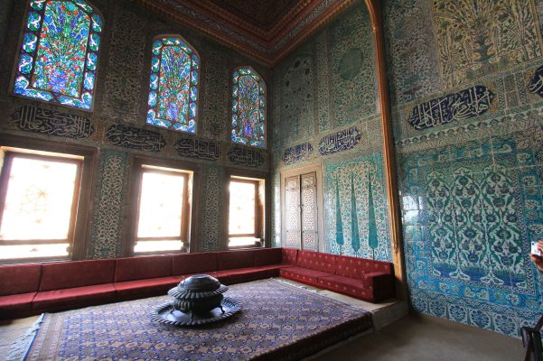 Topkapi Palace - one of the prince's rooms